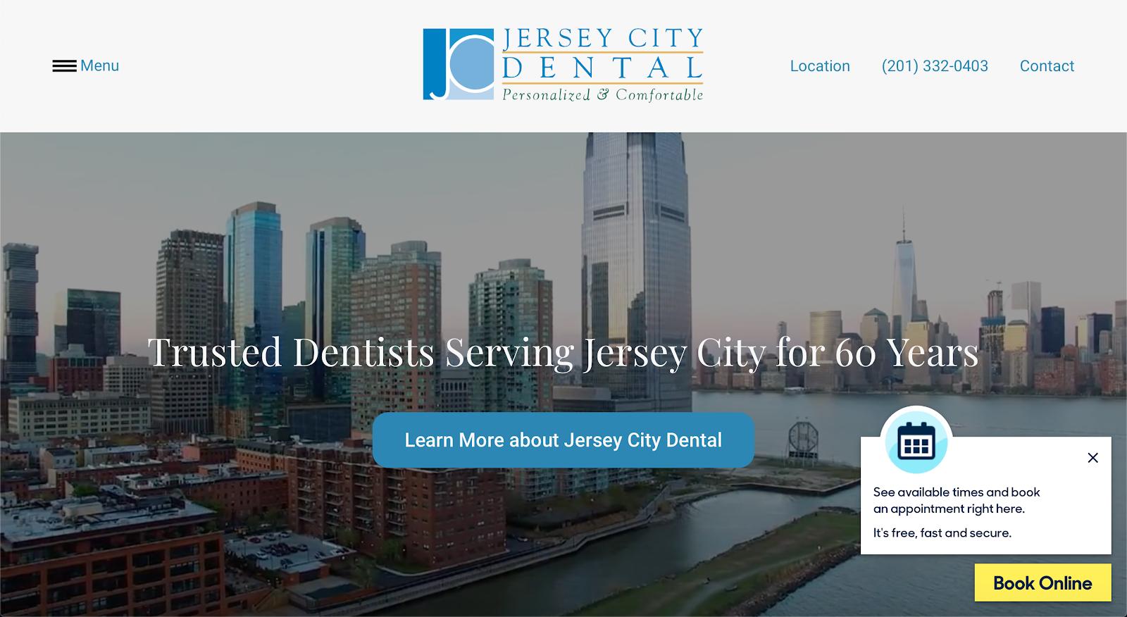 Jersey City Dental Top Website