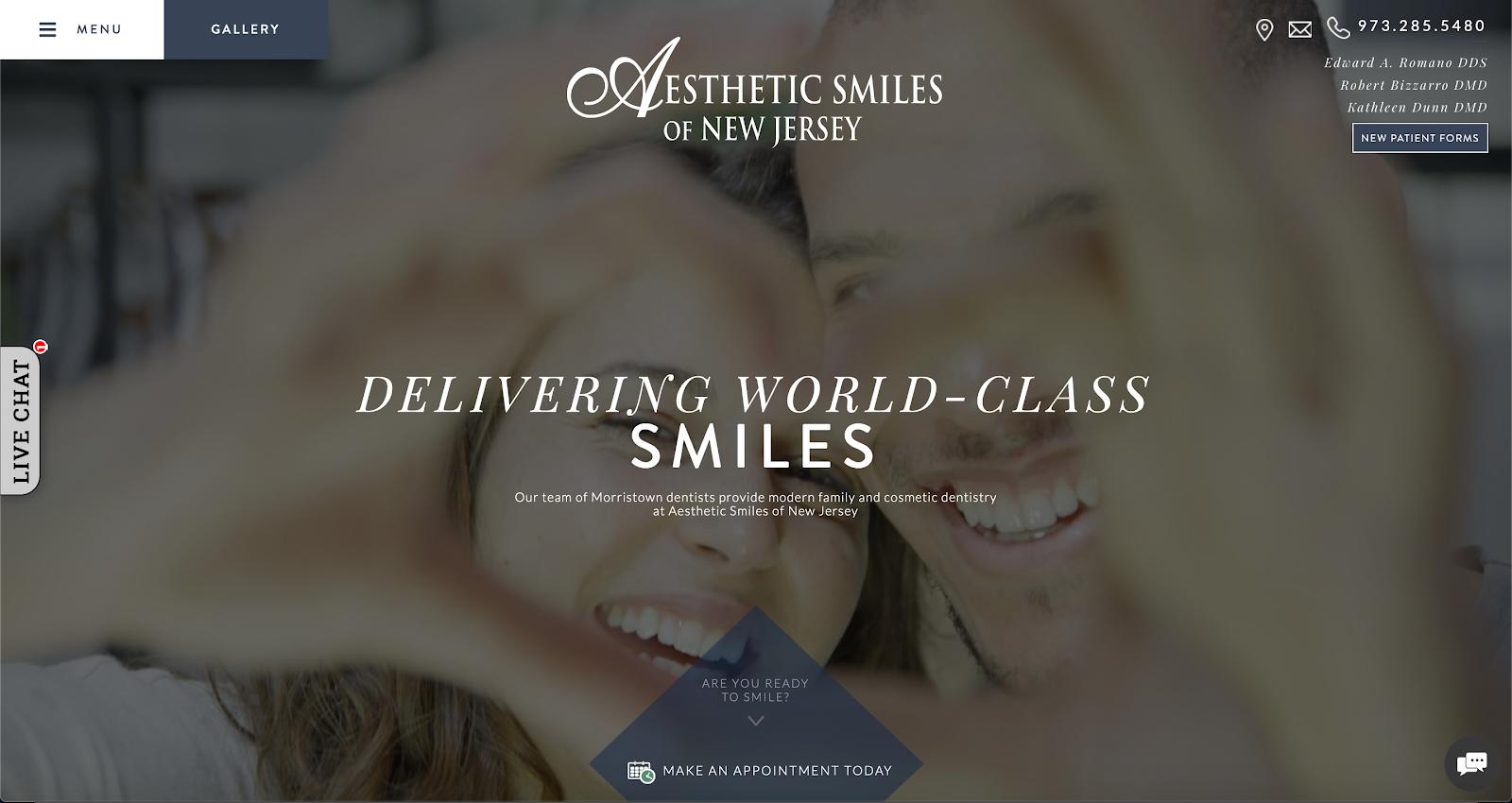 Aesthetic Smiles NJ Top Website